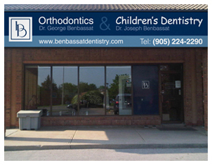 Benbassat Dentistry Sign Box Graphics