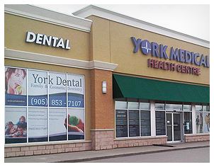 York Medical Outdoor Signage