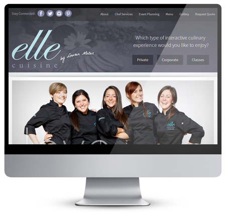 Elle Cuisine Website