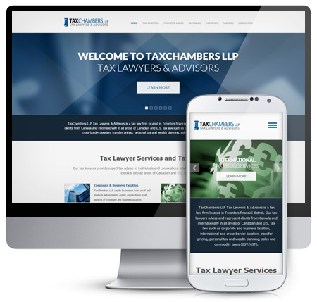 TaxChambers Website