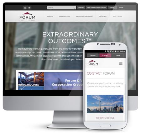 Forum Equity Partners Website